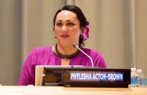 Phylesha Brown-Acton a Member of the New Zealand Order of Merit